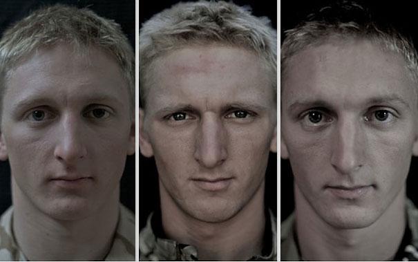 Antes, durante e depois da Guerra.