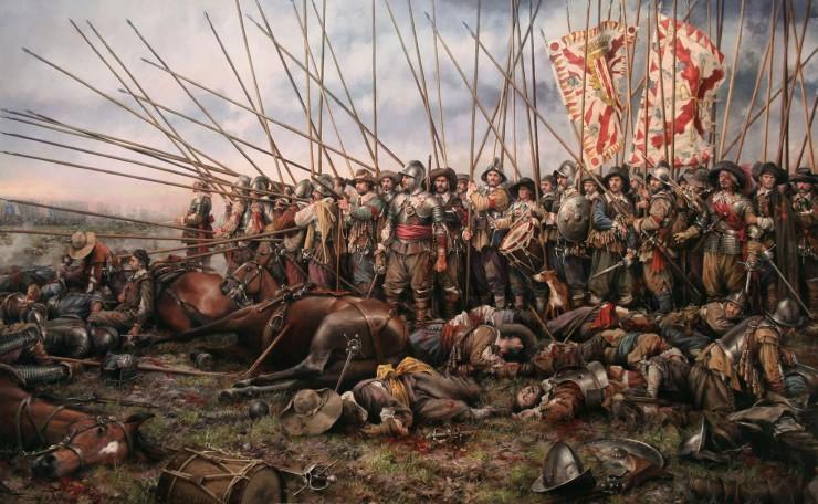batalla de rocroi por augusto ferrer-dalmau